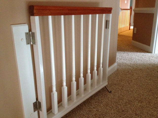 This Homeowner Contracted Concierge Home Solutions To Design And Install Custom  Baby Gates ...