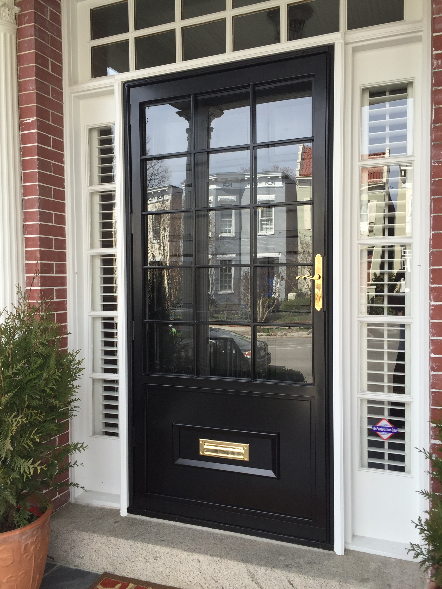 Security Door Installation. Door_Before_IMG_2287. Door_Before_IMG_2287. Door_after_IMG_2552 & Security Door Installation \u2013 Concierge Home Solutions Pezcame.Com