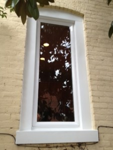 Custom window after replacement